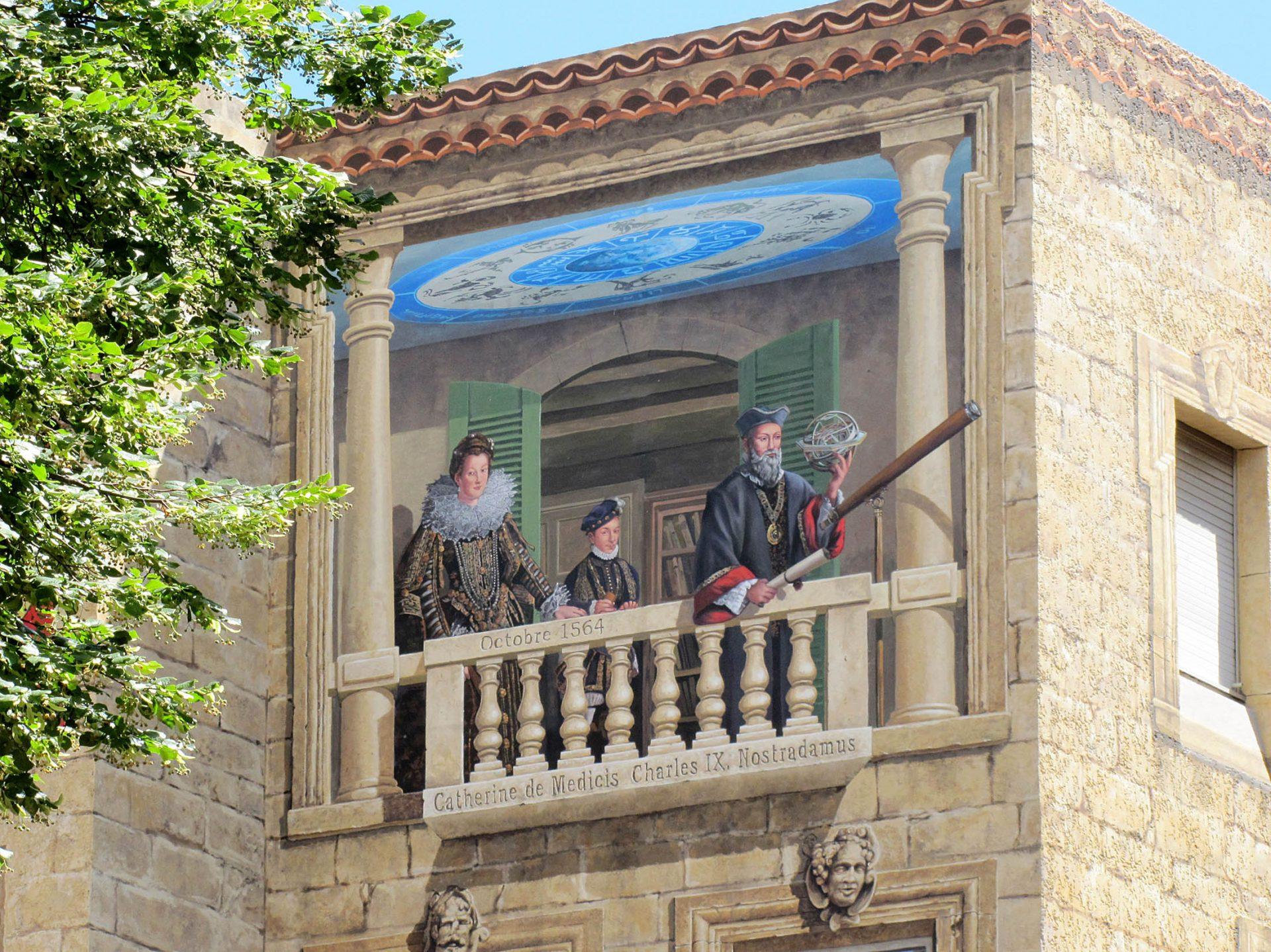Nos cr ations a fresco - Poste jean moulin salon de provence ...