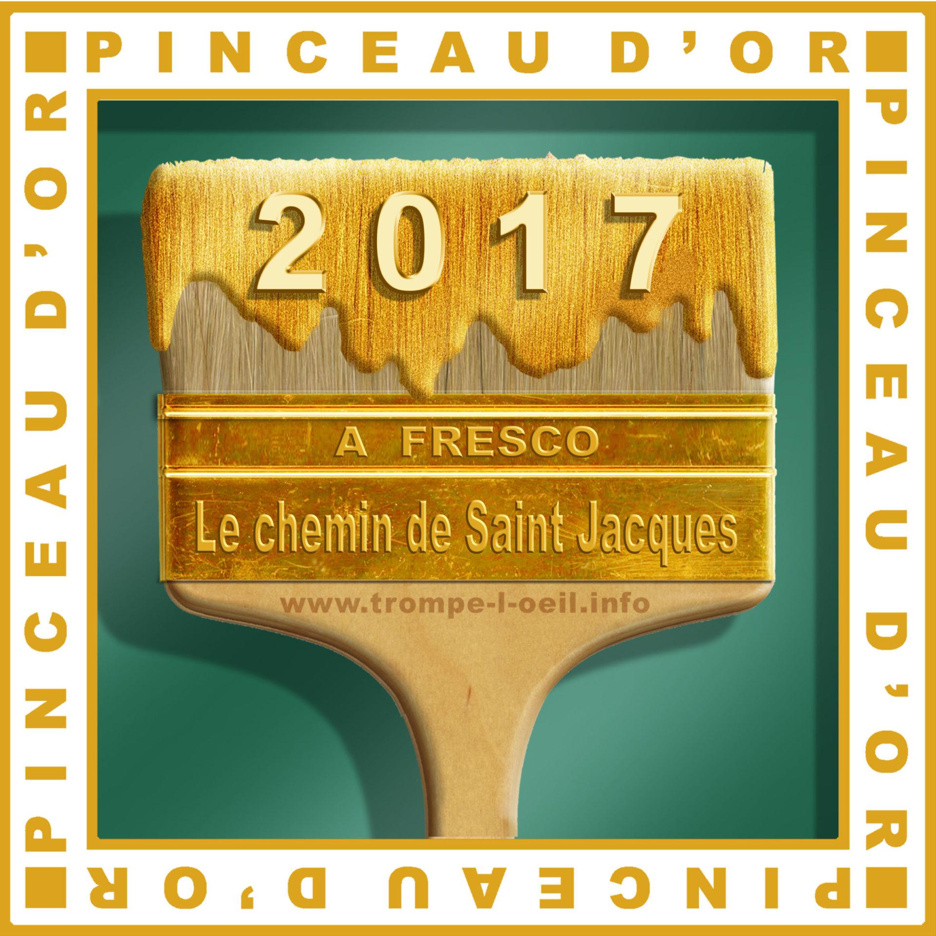 Pinceau d'or 2017 - Les chemins de Compostelle