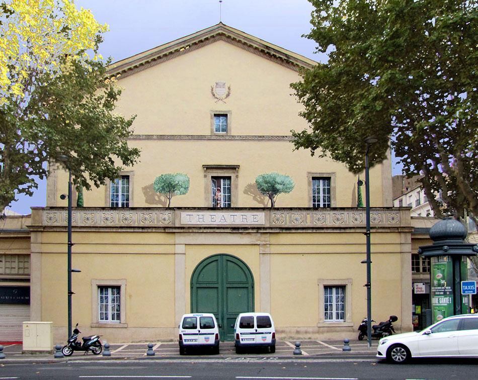 Théâtre de Béziers Après
