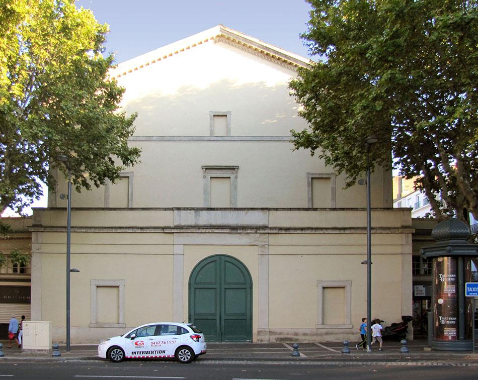 Théâtre de Béziers Avant