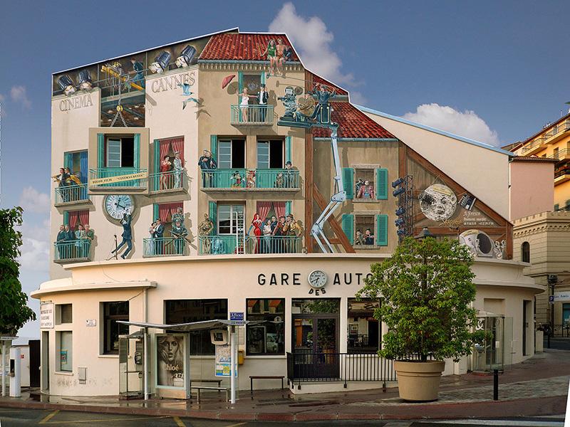 Accueil - A Fresco. Fresque Cannes - après