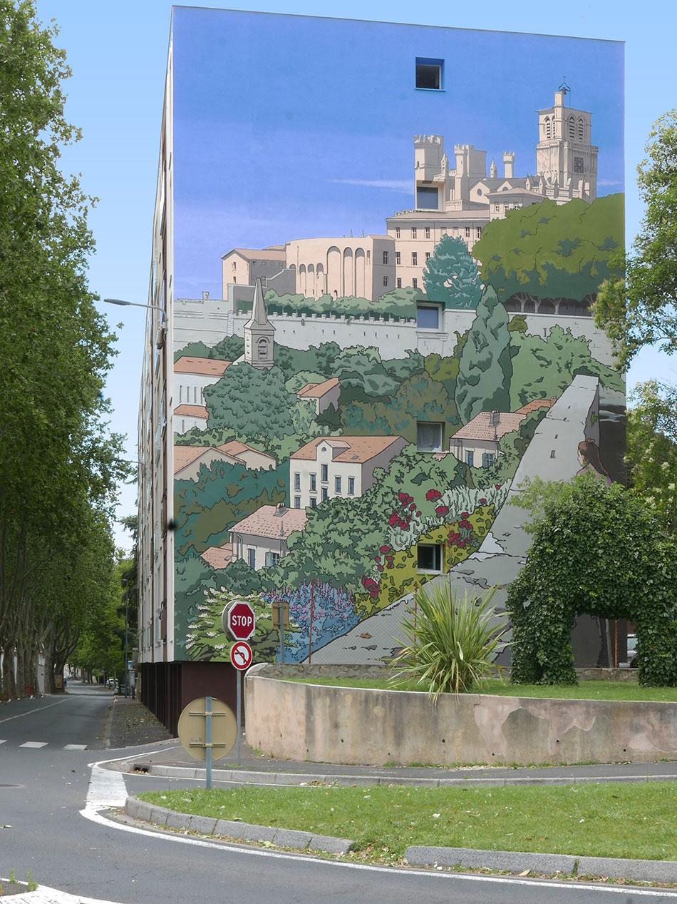 place des provinces - Béziers